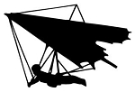 Hang Gliding Decal Sticker